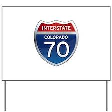 Interstate 70 - Colorado Yard Sign
