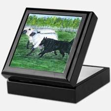 Belgian Sheepdog Herding Keepsake Box