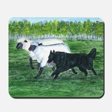 Belgian Sheepdog Herding Mousepad