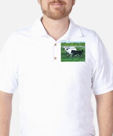 Belgian Sheepdog Herding Golf Shirt