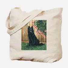 Belgian Sheepdog Happy Tote Bag