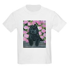 Belgian Sheepdog Fence Pup T-Shirt