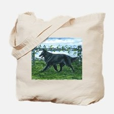 Belgian Sheepdog Patrol Tote Bag