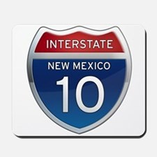 Interstate 10 - New Mexico Mousepad