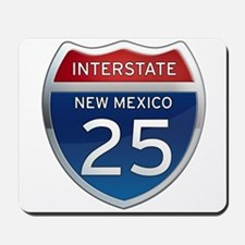 Interstate 25 - New Mexico Mousepad