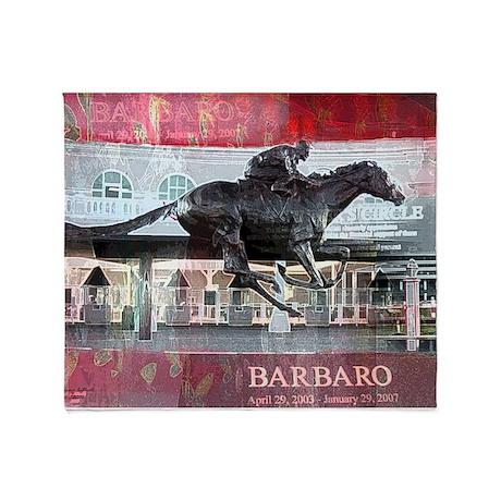 Barbaro Throw Blanket