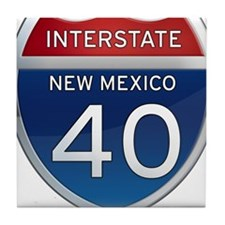 Interstate 40 - New Mexico Tile Coaster