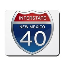 Interstate 40 - New Mexico Mousepad