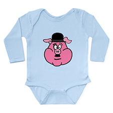 Charlie Choplin Long Sleeve Infant Bodysuit