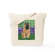 Belgian Tervuren Puppy Tote Bag