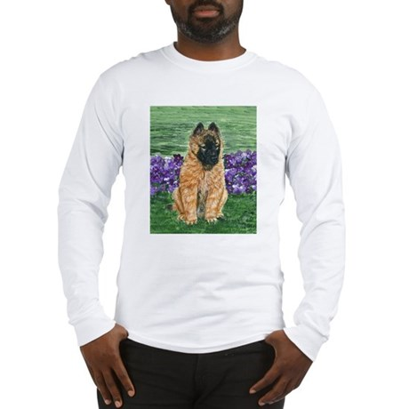 Belgian Tervuren Puppy Long Sleeve T-Shirt