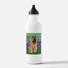Belgian Tervuren Puppy Water Bottle