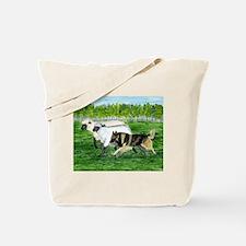 Belgian Tervuren Herding Tote Bag