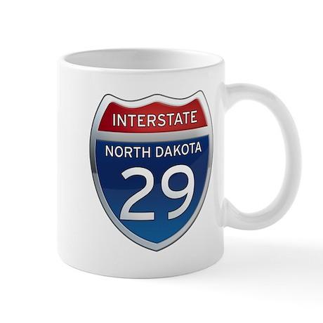 Interstate 29 - North Dakota Mug