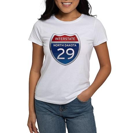 Interstate 29 - North Dakota Women's T-Shirt