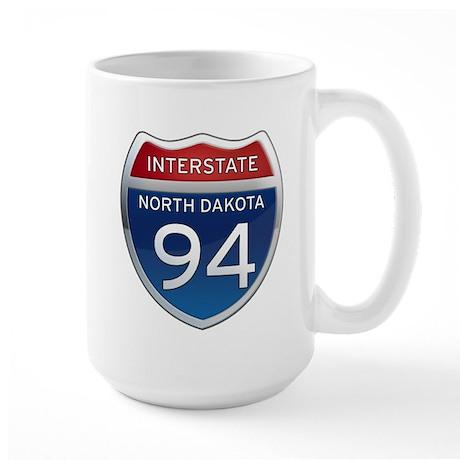Interstate 94 - North Dakota Large Mug