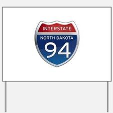 Interstate 94 - North Dakota Yard Sign