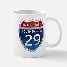 Interstate 29 - South Dakota Mug