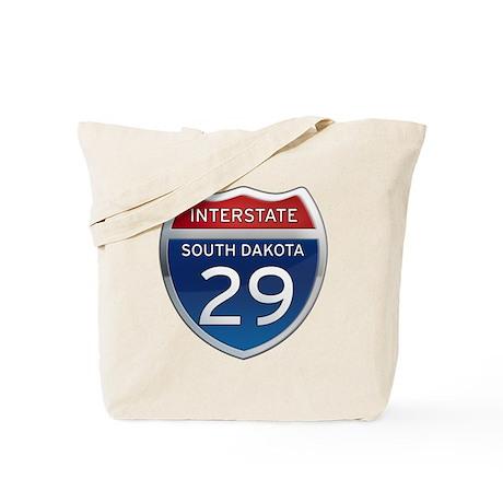 Interstate 29 - South Dakota Tote Bag