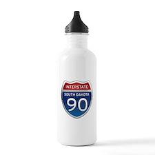 Interstate 90 - South Dakota Water Bottle