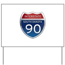 Interstate 90 - South Dakota Yard Sign