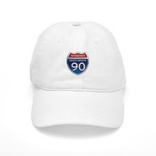 Interstate 90 - South Dakota Baseball Cap