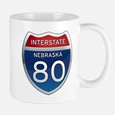 Interstate 80 - Nebraska Mug