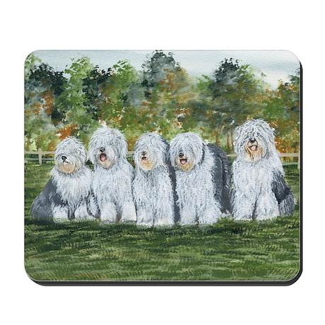 Old English Sheepdog Mousepad