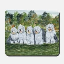 Old English Sheepdog Mousepad