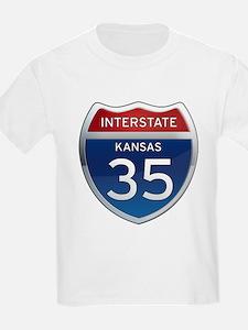Interstate 35 - Kansas T-Shirt