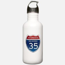 Interstate 35 - Oklahoma Water Bottle