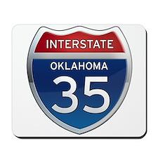 Interstate 35 - Oklahoma Mousepad