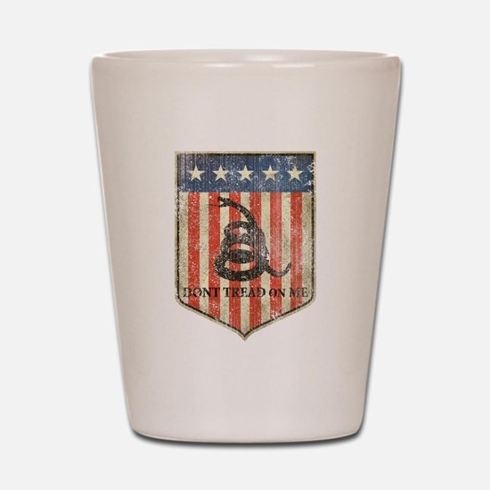Don't Tread on Me Shot Glass