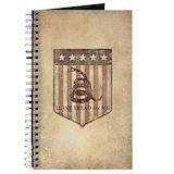 America and gadsden Journals & Spiral Notebooks