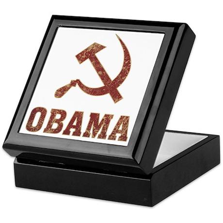 Socialist Obama Vintage Keepsake Box