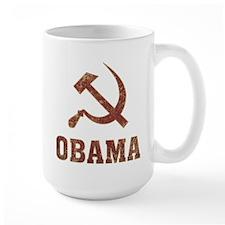 Socialist Obama Vintage Mug