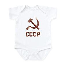 Soviet Union Vintage Infant Bodysuit