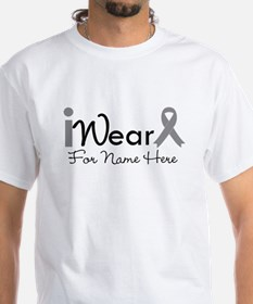 Personalize Brain Cancer Shirt