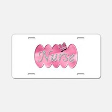 Cool Nurse student Aluminum License Plate