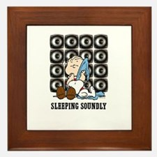 Sleeping Soundly Framed Tile