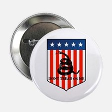 """Don't Tread on Me 2.25"""" Button (100 pack)"""