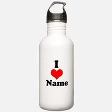I heart Water Bottle
