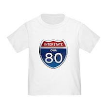 Interstate 80 - Iowa T