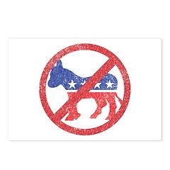 Anti-Democrat 2 Postcards (Package of 8)