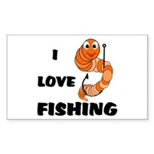 I Love Fishing Decal