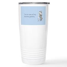 Favorite Parent Stainless Steel Travel Mug