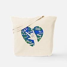 LOVE YOU DAD Tote Bag