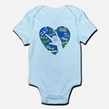 LOVE YOU DAD Infant Bodysuit