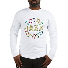 Golden Jazz Long Sleeve T-Shirt