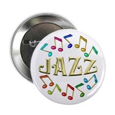 "Golden Jazz 2.25"" Button (10 pack)"
